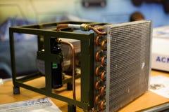 设施的空调器一辆防弹车的 免版税图库摄影