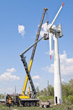 设施风轮机 免版税库存图片