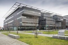 建设曼彻斯特大学的艾伦・图灵 库存照片