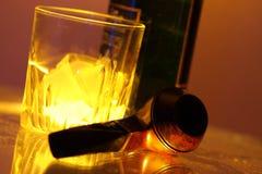 设置威士忌酒 图库摄影