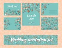 设置婚礼 免版税库存照片