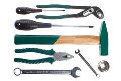 设置工具商品 免版税库存图片