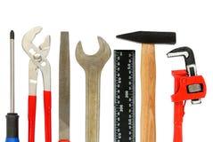 设置工具 免版税库存图片