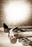 设置工具 免版税图库摄影