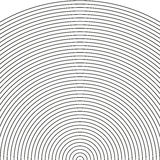 设置弧-生波探侧器 向量例证