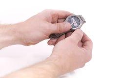设置时间 免版税库存图片