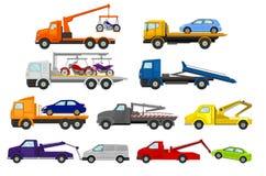 设置汽车装载者 r 向量例证