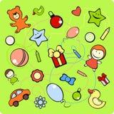 设置玩具 免版税库存图片