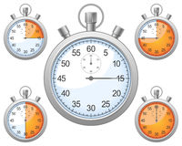 设置秒表 免版税图库摄影