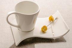设置茶 免版税库存照片