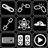设置象-计算机,网,互联网,技术 库存照片