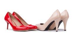设置鞋子 免版税图库摄影