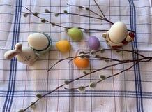 设置鸡蛋为假日复活节 库存照片