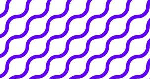 设置6秒模块化无缝的样式,移动了背景 向量例证