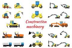 设置建筑器材 库存例证