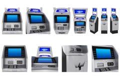 设置ATM终端 库存图片