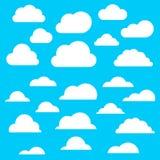 设置cloud2 免版税图库摄影