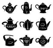 设置teaport 皇族释放例证