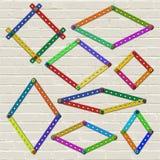 建设者框架2 免版税库存照片