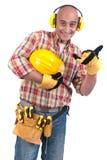 建设者 免版税库存照片