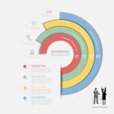 设计业务设计的干净的模板4步,报告,步 免版税库存照片