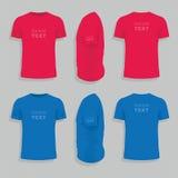 设计人s衬衣t模板 向量例证