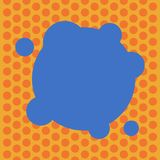 设计企业概念空的拷贝空间现代抽象背景空白扭屈了颜色与小圈子的圆形 皇族释放例证