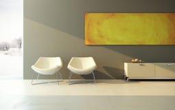 设计休息室空间 皇族释放例证