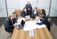 设计会议小组 免版税库存照片