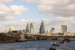 设计例证伦敦地平线您 免版税库存照片