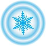 设计例证雪花冬天 库存图片