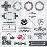 设计元素第5部分 免版税库存图片
