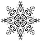 设计六角向量 库存照片