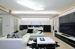 设计内部客厅 图库摄影