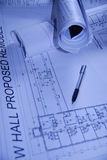 设计内部纸张 免版税库存照片
