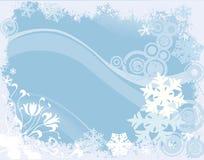 设计冬天 库存例证