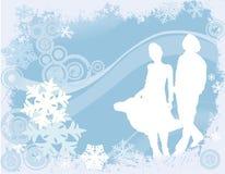 设计冬天 免版税库存照片