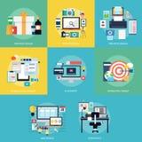 设计发展 免版税库存图片