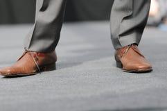 设计员鞋子 免版税库存照片