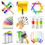 设计和艺术象传染媒介集合 向量例证