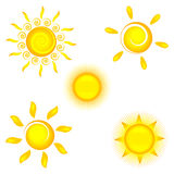 设计图标您星期日的太阳镜 免版税库存照片