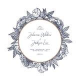 设计婚姻的邀请的模板,保存日期、贺卡或者邀请对在葡萄酒的其他假日 图库摄影