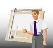 设计工程师 免版税库存图片