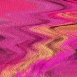 设计师与温暖的颜色的摘要艺术品飞溅 库存例证