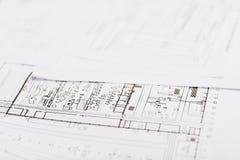 设计师图画工程师和教育 免版税库存图片