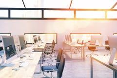 设计师牢固的办公室内部 免版税图库摄影
