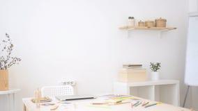 设计师空的办公室 免版税库存图片