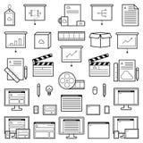 设计师网站象 免版税库存图片