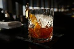 设计师鸡尾酒在伦敦市 免版税图库摄影