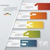 设计干净的数字横幅模板 向量 皇族释放例证